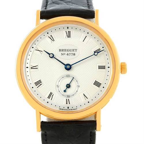 Photo of Breguet Classique 18K Yellow Gold Mens Watch 3910BA/15/286