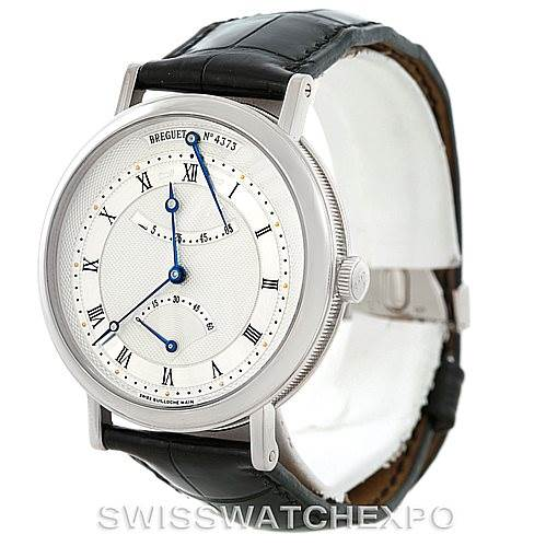 6704P Breguet Classique 18K White Gold Mens Watch 5207BB129V6 SwissWatchExpo