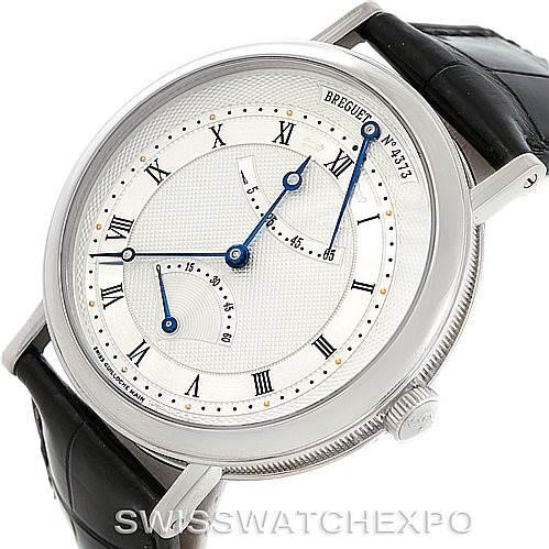 Breguet Classique 18K White Gold Mens Watch 5207BB129V6 SwissWatchExpo