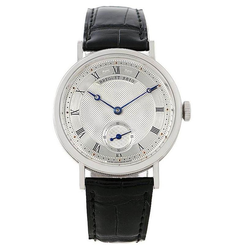 Breguet Classique 18K White Gold Mens Watch 5907 SwissWatchExpo