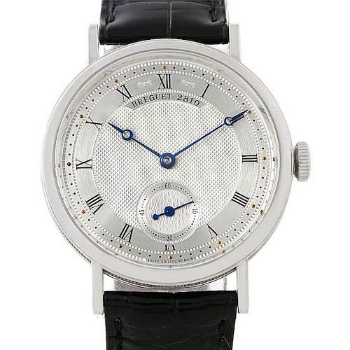 Photo of Breguet Classique 18K White Gold Mens Watch 5907