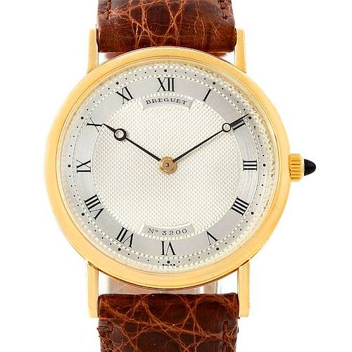 Photo of Breguet Classique 18K Yellow Gold Mens Watch 3200