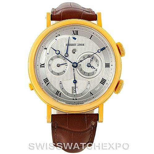 7415P Breguet Classique Alarm Le Reveil du Tsar Yellow Gold Watch 5707 SwissWatchExpo