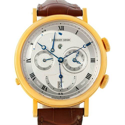Photo of Breguet Classique Alarm Le Reveil du Tsar Yellow Gold Watch 5707