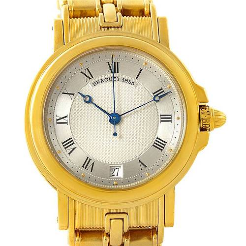 Photo of Breguet Classique 18K Yellow Gold Mens Watch 3400