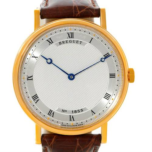 Photo of Breguet Classique 18K Yellow Gold Extra Thin Mens Watch 5157