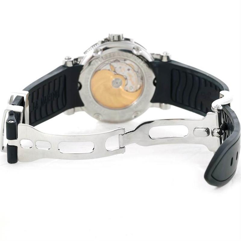 Breguet Marine Big Date Automatic Stainless Steel Mens Watch 5817 SwissWatchExpo