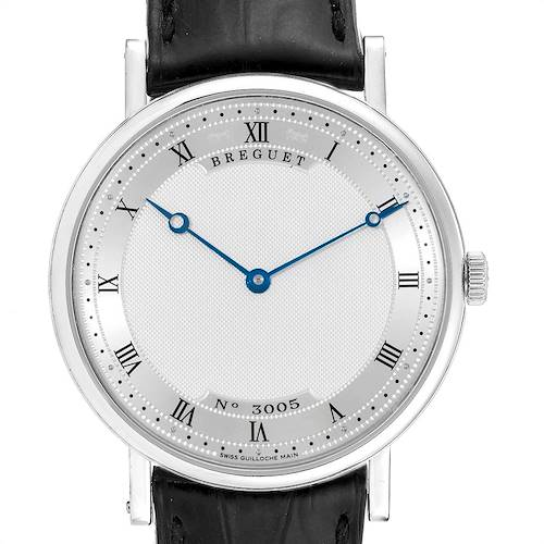 Photo of Breguet Classique 38mm White Gold Ultra Thin Automatic Mens Watch 5157