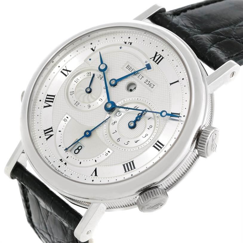 9159P Breguet Classique Alarm Le Reveil du Tsar 18K White Gold Watch 5707 SwissWatchExpo