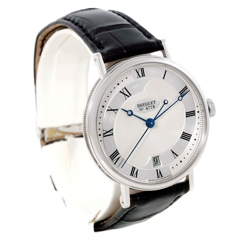 9525 Breguet Classique 18K White Gold Automatic Mens Watch 5197BB/15/986 SwissWatchExpo