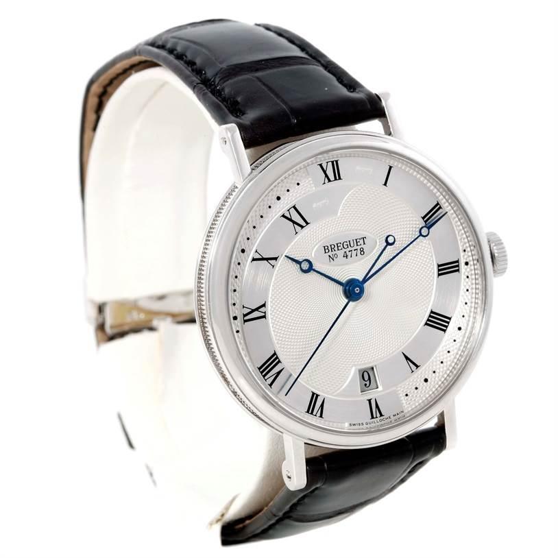 Breguet Classique 18K White Gold Automatic Mens Watch 5197BB/15/986 SwissWatchExpo