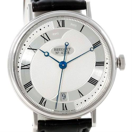 Photo of Breguet Classique 18K White Gold Automatic Mens Watch 5197BB/15/986