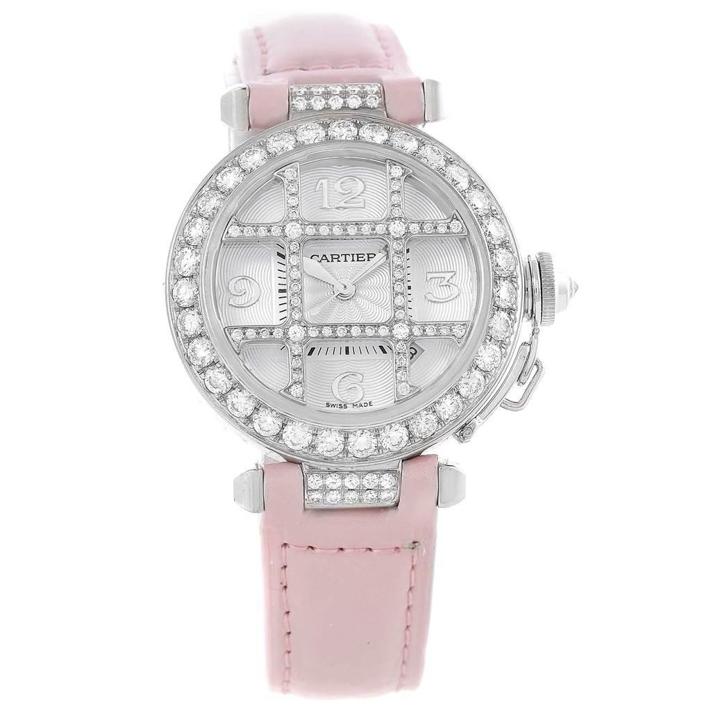 Cartier Pasha Diamond Watch Price