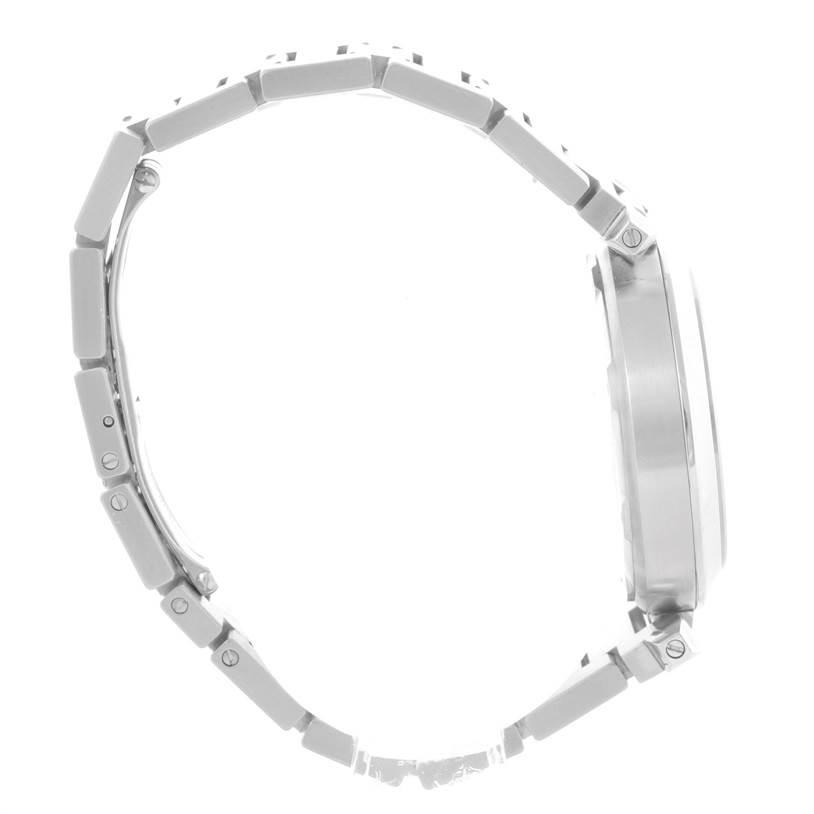 11155 Cartier Pasha C Medium White Dial Stainless Steel Watch W31074M7 SwissWatchExpo