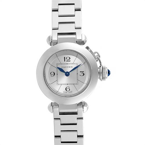 Photo of Cartier Miss Pasha Steel Silver Dial Quartz Ladies Watch W3140007