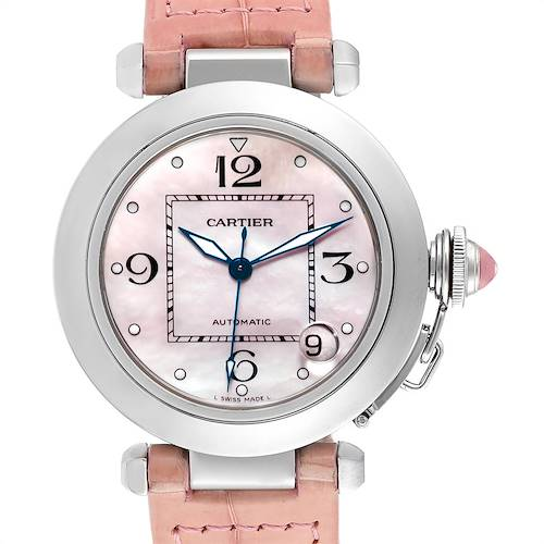 Photo of Cartier Pasha C Medium Pink Mother of Pearl Limited Edition Watch 2324