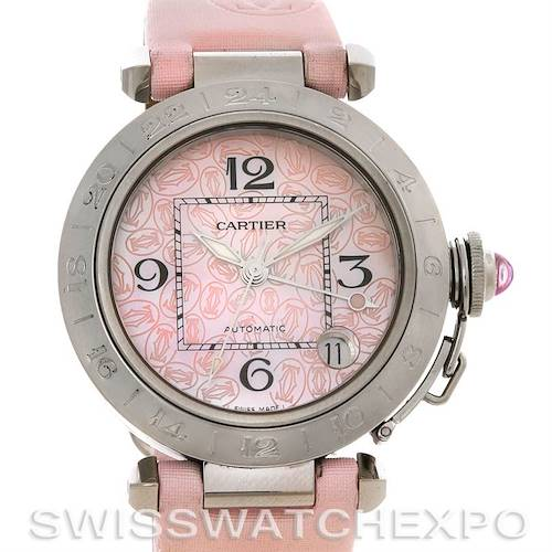 Photo of Cartier Pasha Ladies W3109599 Limited Edition Mother Of Pearl Watch