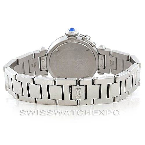 6964 Cartier Miss Pasha Small Watch W3140007 SwissWatchExpo