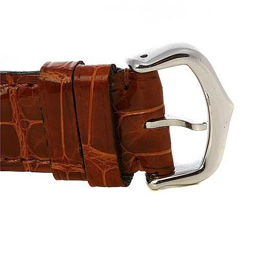 2488 Cartier Tank Basculante Stainless Steel Medium Quartz Watch SwissWatchExpo