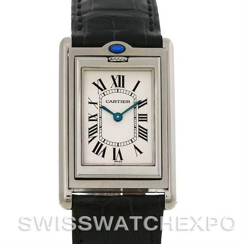 Photo of Cartier Tank Basculante Stainless Steel Quartz Watch