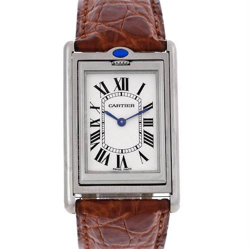Photo of Cartier Tank Basculante Mechanical Steel Large Watch