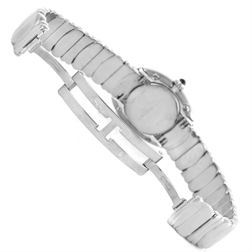 10222 Cartier Baignoire Ladies 18k White Gold Watch W15133L2 SwissWatchExpo