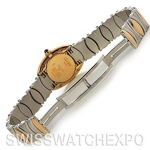 2541 Cartier  Baignoire Ladies Ss & 18k Yellow Gold W15045D8 SwissWatchExpo