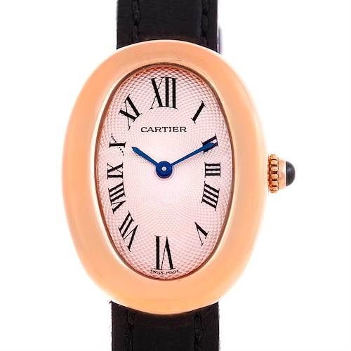 Photo of Cartier Baignoire 18K Rose Gold Ladies Watch
