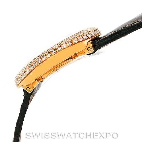 7323 Cartier Baignoire Mini 18K Yellow Gold Diamond Ladies Watch SwissWatchExpo