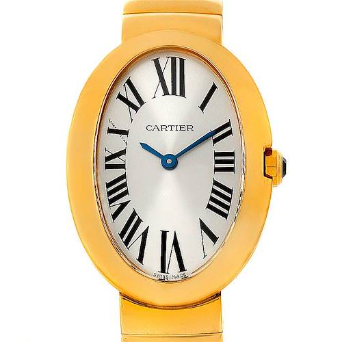 Photo of Cartier Baignoire 18k Yellow Gold Ladies Watch W8000008