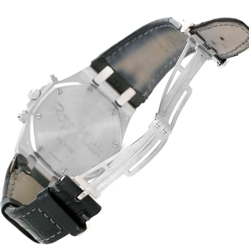 Audemars Piguet Royal Oak White Gold Chrono Watch 26022BC.OO.D002CR.01 SwissWatchExpo