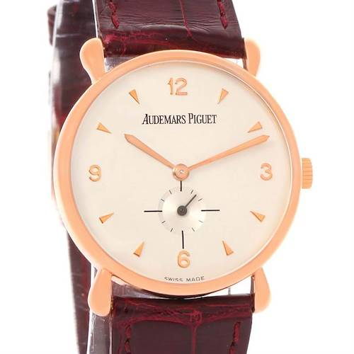 Photo of Audemars Piguet Vintage 18K Rose Gold Round Limited Edition Watch