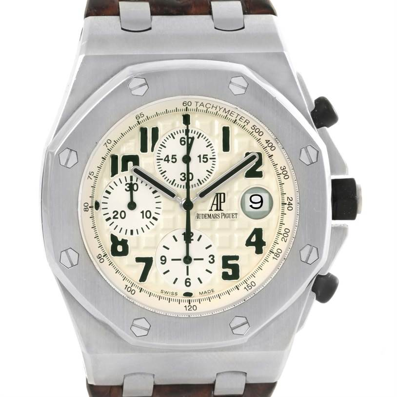 12607P Audemars Piguet Royal Oak Offshore Safari Watch 26170ST.OO.D091CR.01 SwissWatchExpo