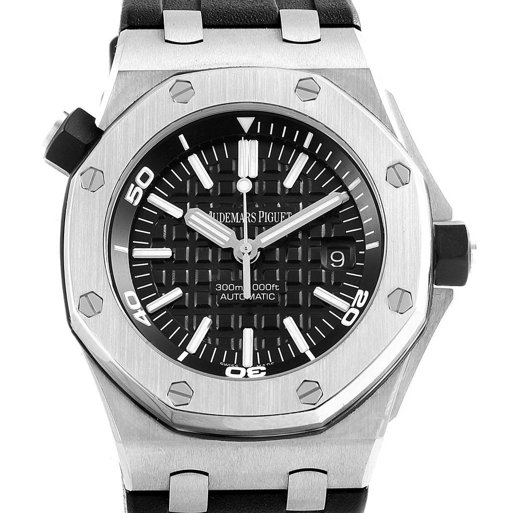 20073 Audemars Piguet Royal Oak Offshore Watch 15703ST SwissWatchExpo