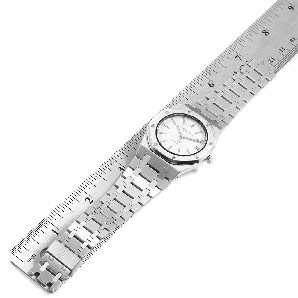 Audemars Piguet Royal Oak 35mm Silver Dial Steel Mens Watch SwissWatchExpo