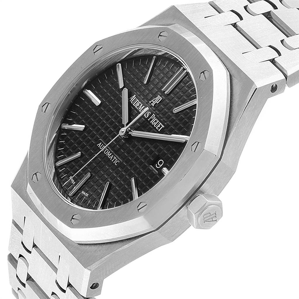 22234 Audemars Piguet Royal Oak 41mm Automatic Mens Watch 15400ST Box Papers SwissWatchExpo