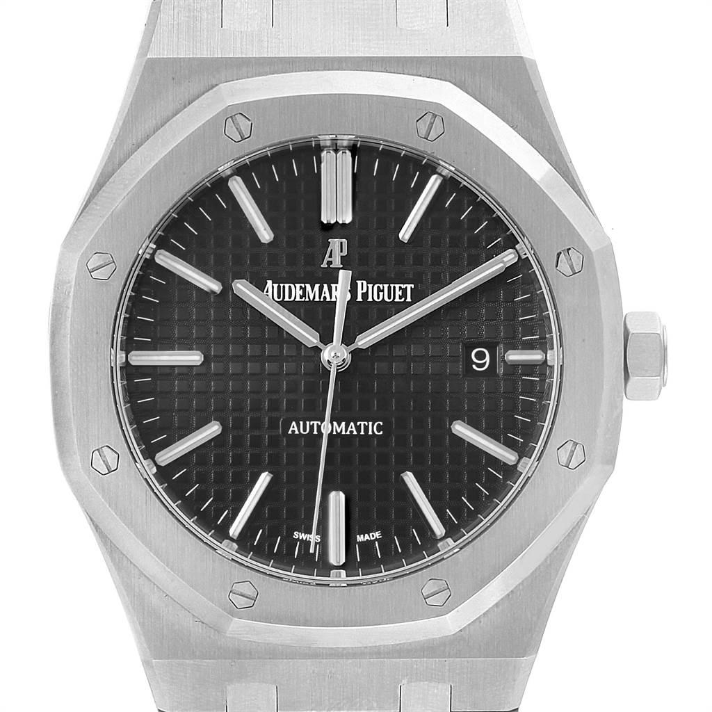 Audemars Piguet Royal Oak 41mm Automatic Mens Watch 15400ST Box Papers SwissWatchExpo