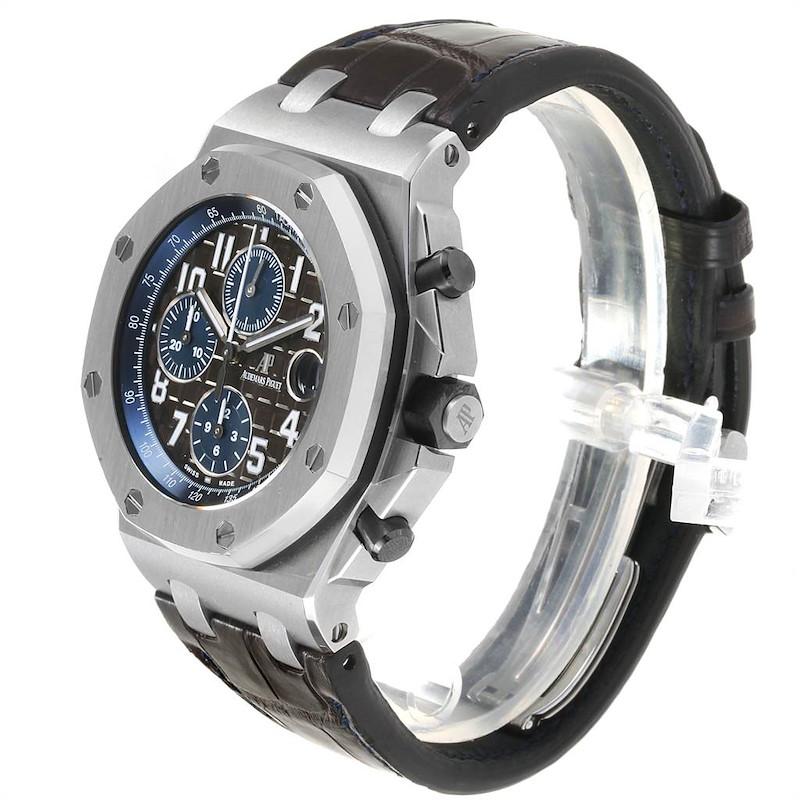Audemars Piguet Royal Oak Offshore Brown Dial Chronograph Watch 26470ST SwissWatchExpo