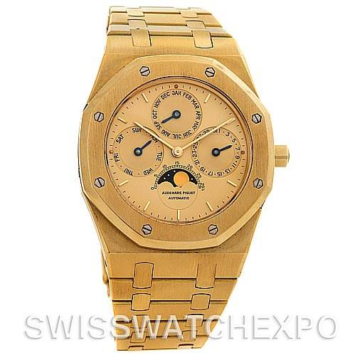 2454 Audemar Piguet Royal Oak Perpetual Watch 25654ba.0.0944ba.01 SwissWatchExpo