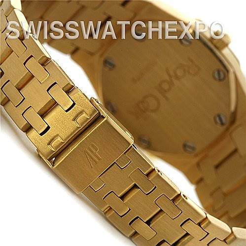 2494 Audemars Piguet Royal Oak 18k Gold Ladies Watch  SwissWatchExpo