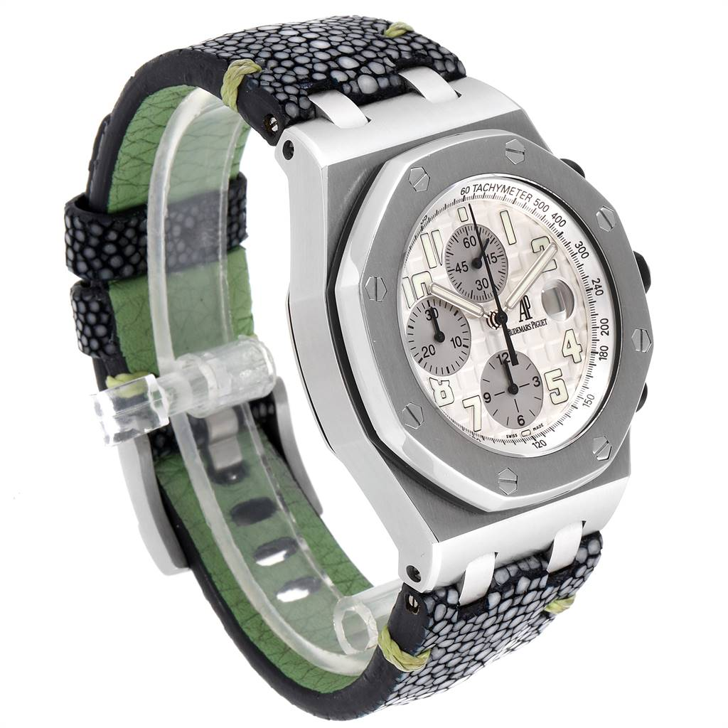 Audemars Piguet Royal Oak Offshore 26020ST Watch Box Papers SwissWatchExpo