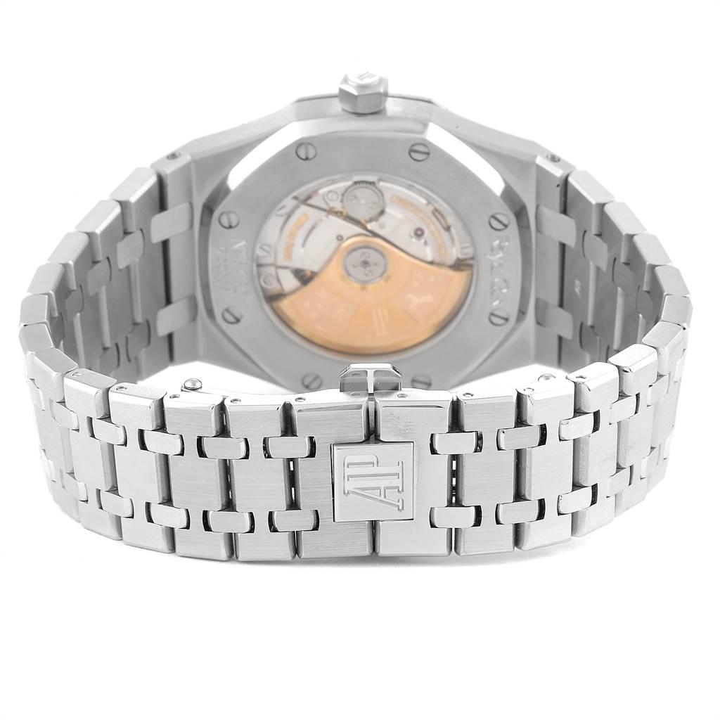 25149 Audemars Piguet Royal Oak Silver Dial Steel Mens Watch 15300 SwissWatchExpo
