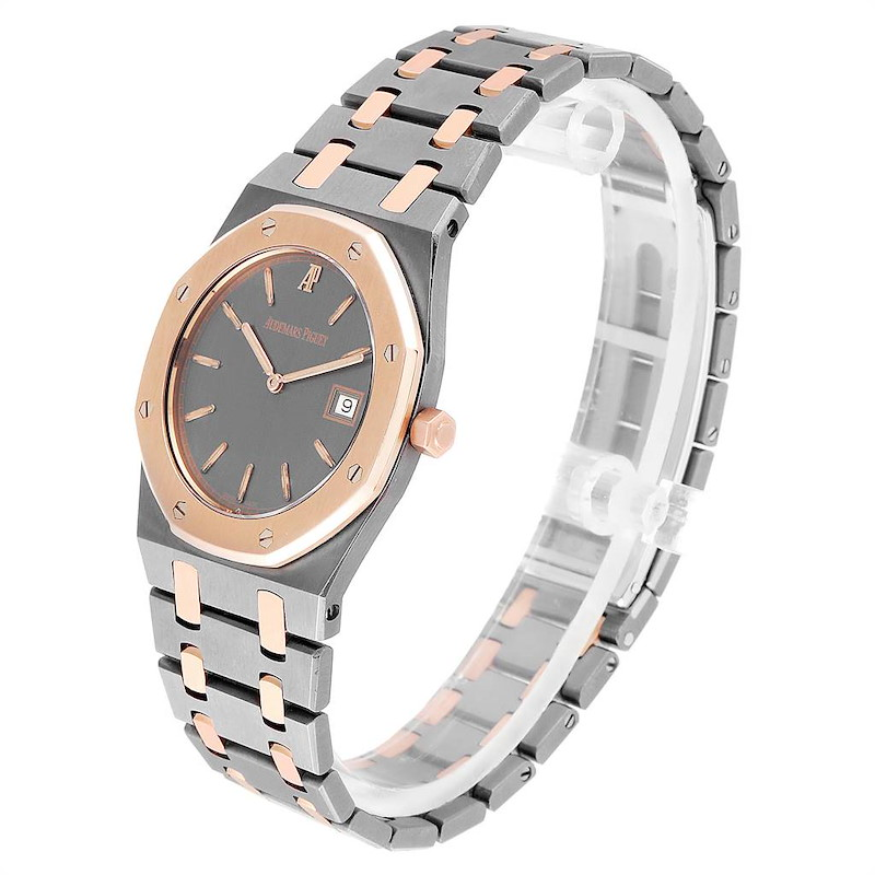 Audemars Piguet Royal Oak Tantalum Rose Gold Mens Watch 56175 SwissWatchExpo