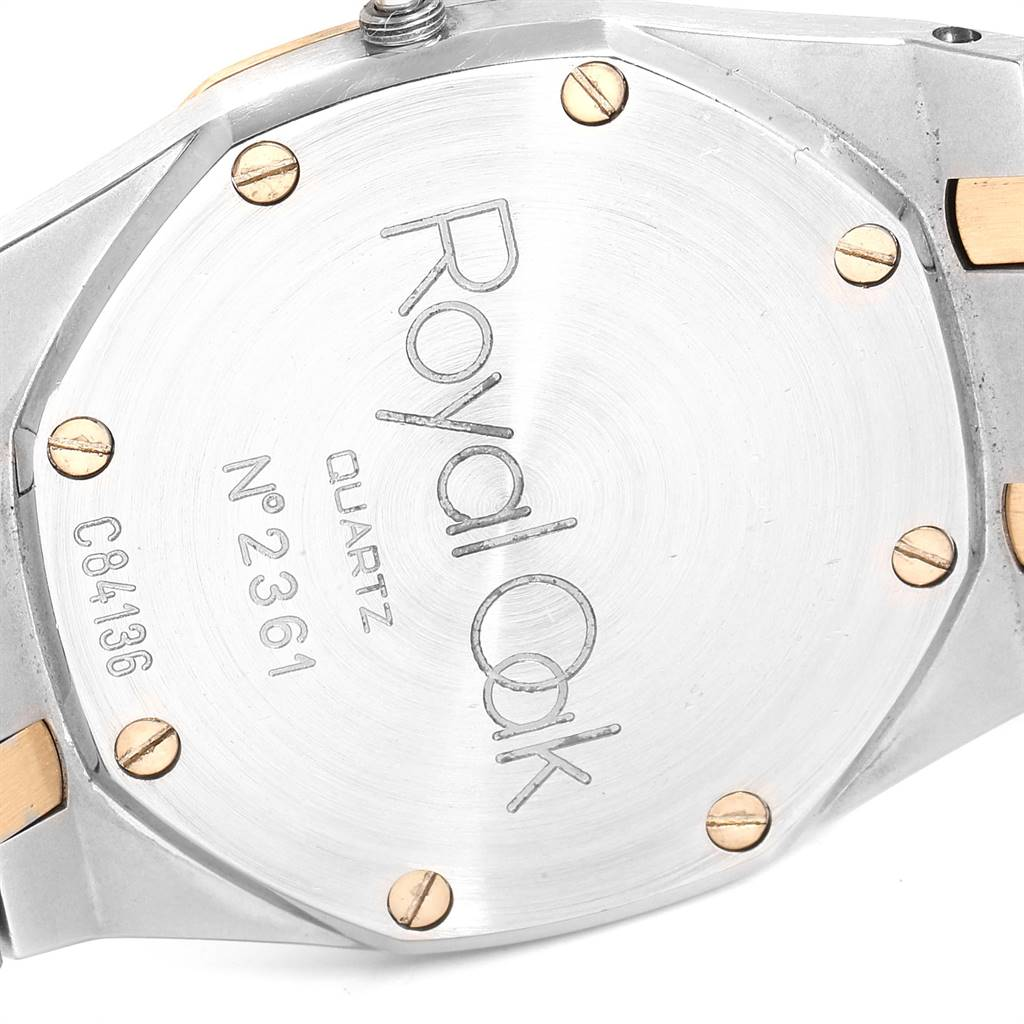 26460 Audemars Piguet Royal Oak 33mm Diamond Steel Yellow Gold Mens Watch SwissWatchExpo