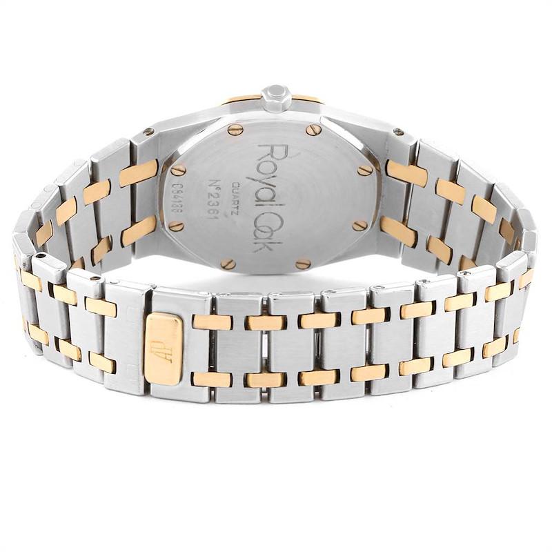 Audemars Piguet Royal Oak 33mm Diamond Steel Yellow Gold Mens Watch SwissWatchExpo