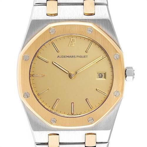 Photo of Audemars Piguet Royal Oak 33mm Steel Yellow Gold Quartz Mens Watch