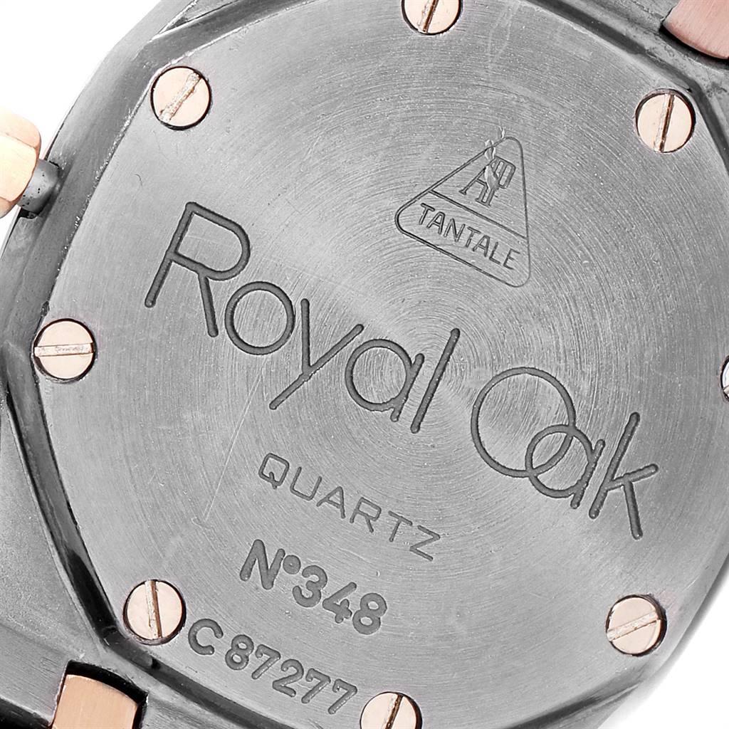 Audemars Piguet Royal Oak Tantalum Rose Gold Ladies Watch 59102 SwissWatchExpo