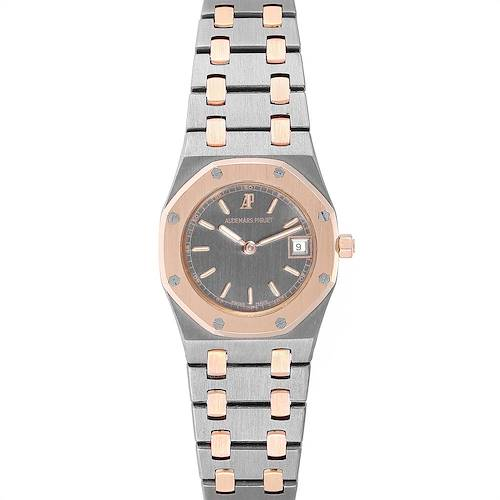 Photo of Audemars Piguet Royal Oak Tantalum Rose Gold Ladies Watch 59102