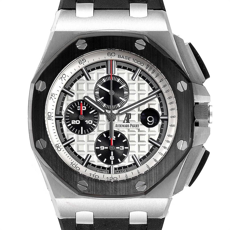 Audemars Piguet Royal Oak Offshore Chronograph Watch 26400 Box Papers SwissWatchExpo