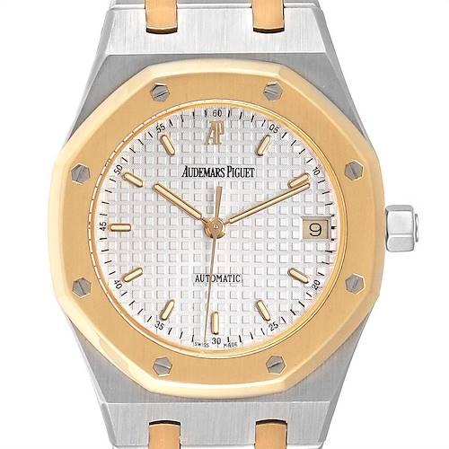 Photo of Audemars Piguet Royal Oak Steel Yellow Gold Mens Watch 14790SA
